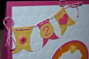 Carte 2ans juliette Décembre 2014 Created by Emmanuelle