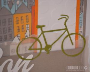 Carte Vélo Anniversaire homme |Created by Emmanuelle