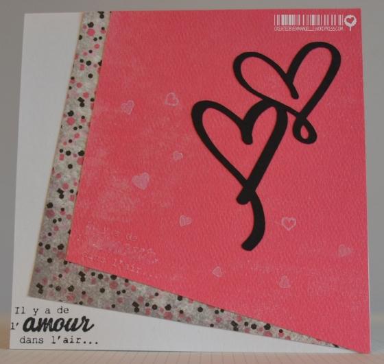 Carte Amour décalé Novembre 2014 | Created by Emmanuelle