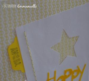 Carte Anniversaire Défi 1 Com.16 | Created by Emmanuelle