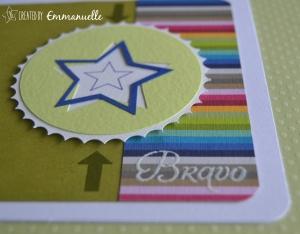 Carte Bravo étoile Juillet 2015 | Created by Emmanuelle