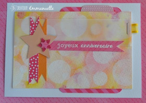 Carte Postale Anniversaire Cartemaniak #110 Juillet 2015 | Created by Emmanuelle