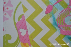 Carte naissance Oiseaux Août 2015 | Created by Emmanuelle