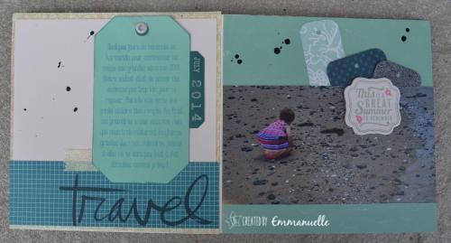 Mini-album Normandie Août 2015 | Created by Emmanuelle