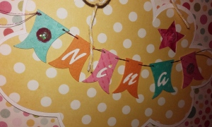 Pancarte Annonce naissance Nina Septembre 2015 | Created by Emmanuelle