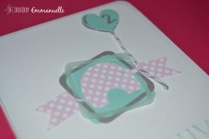 Carte anniversaire Eline Octobre2015 | Created by Emmanuelle