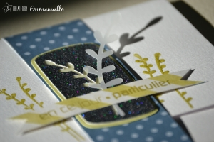 "Carte -pochette ""branchage"" Octobre 2015 