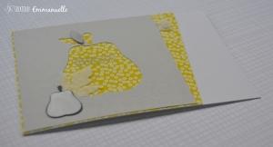 "Carte ""poires"" Octobre 2015 | Created by Emmanuelle"