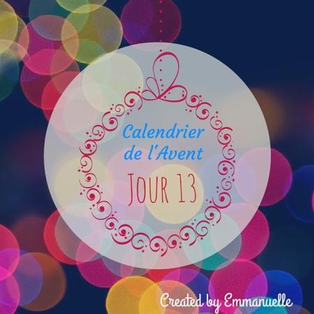 Calendrier de l'Avent   Created by Emmanuelle