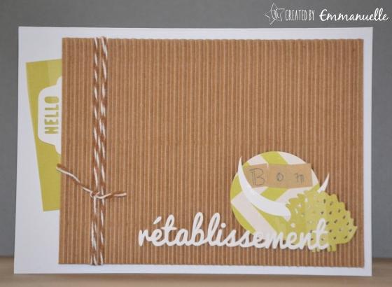 Carte rétablissement Hérisson Novembre 2015 | Created by Emmanuelle