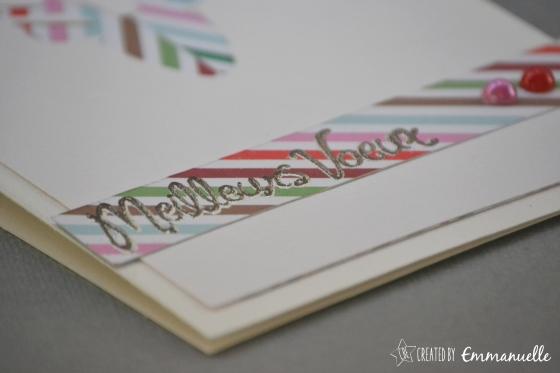 Carte de voeux Cerf Novembre 2015 | Created by Emmanuelle
