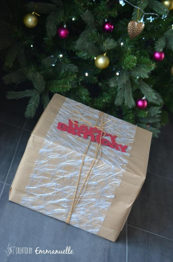 Emballage cadeau Décembre 2015 | Created by Emmanuelle