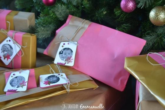 Tag cadeaux Noël2015 Décembre 2015 | Created by Emmanuelle