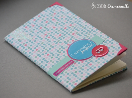 "Carnet ""girly"" Décembre 2015 