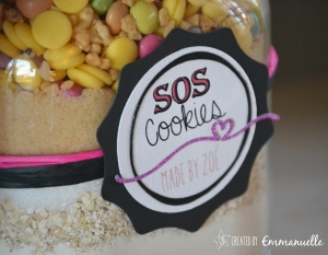SOS Cookies girly Décembre 2015 | Created by Emmanuelle