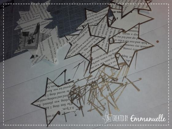 Tuto suspension en papier Décembre 2015 | Created by Emmanuelle