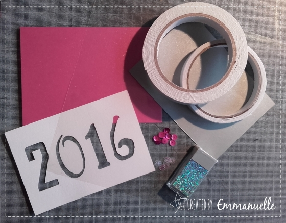 Tuto shaker cards Décembre 2015 | Created by Emmanuelle