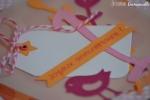 Carte anniversaire Zoiseau Février 2016   Created by Emmanuelle