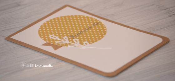 """Carte de bon rétablissement """"Moutarde"""" Février 2016   Created by Emmanuelle"""