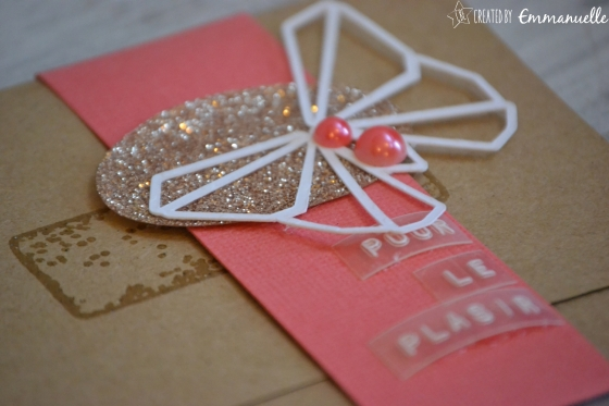 "Pochette-cadeau ""papillon origami"" mai 2016 | Created by Emmanuelle"