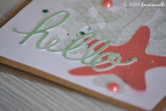 "Carte ""hello maritime"" Juillet 2016   Created by Emmanuelle"