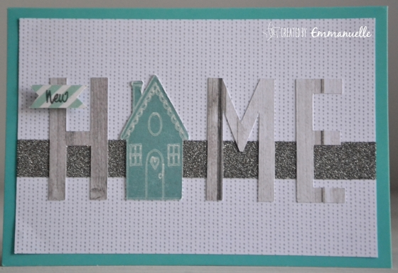 "Carte déménagement ""HOME"" Septembre 2016 