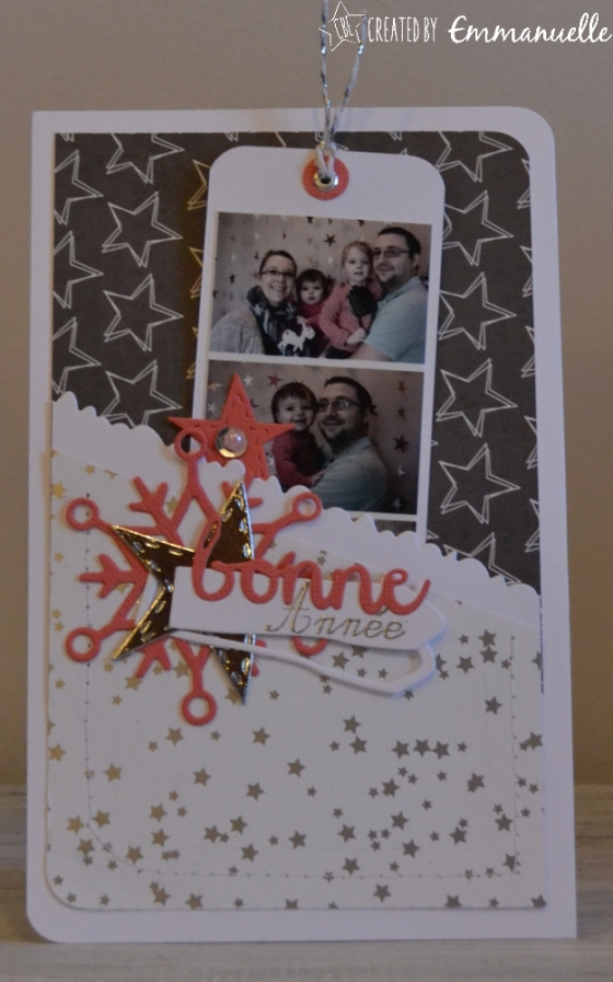 "Carte de voeux ""photobooth 2017"" Janvier 2017 