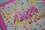 "Carte félicitations naissance ""petit ange"" mai 2017 | Created by Emmanuelle"