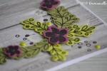 "Carte fête des mères ""coin fleuri"" mai 2017 | Created by Emmanuelle"