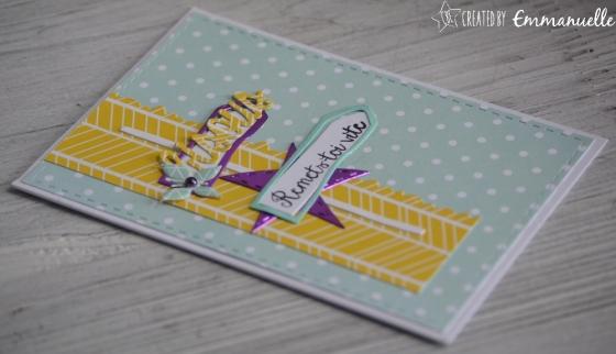 """Carte de bon rétablissement """"pancartes estivales"""" mai 2017   Created by Emmanuelle"""