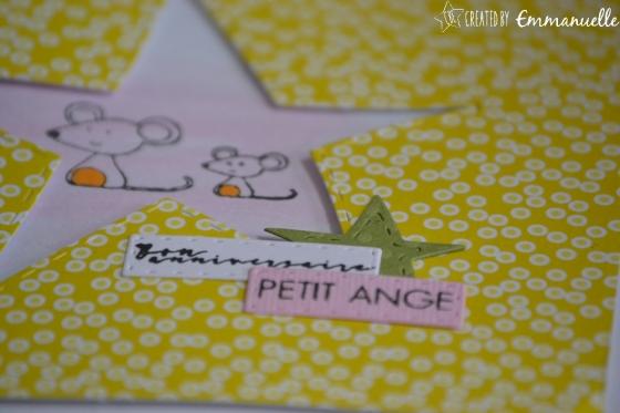 """Carte anniversaire """"mimis souris"""" juin 2017   Created by Emmanuelle"""