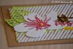 "Carte anniversaire ""or & cerisier"" juillet 2017 | Created by Emmanuelle"