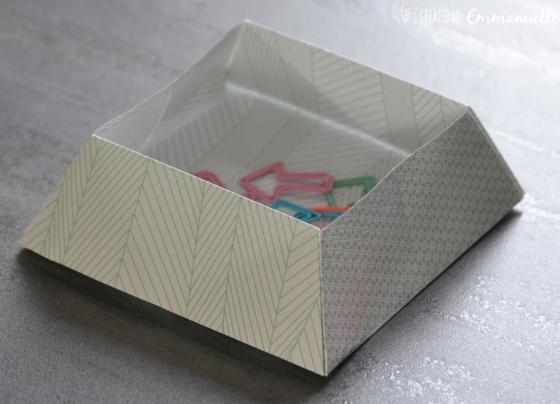 Boite origami Août 2017   Created by Emmanuelle