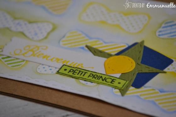 "Carte de félicitations ""noeuds papillon"" août 2017 | Created by Emmanuelle"
