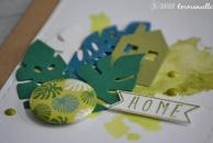 "Carte new home""tropical"" août 2017 | Created by Emmanuelle"