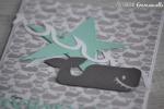 """Carte d'anniversaire """"baleine"""" Septembre 2017   Created by Emmanuelle"""