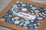 """Carte de soutien """"pensée fleurie"""" Septembre 2017   Created by Emmanuelle"""