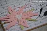 "Carte de félicitations ""love edelweiss"" Octobre 2017 | Created by Emmanuelle"