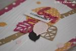 "Carte d'anniversaire ""automne girly"" Novembre 2017 | Created by Emmanuelle"