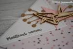 "Carte de voeux 2018 ""grue origami"" Novembre 2017 | Created by Emmanuelle"