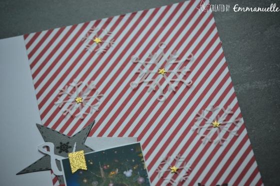 "Page Scrap A4 ""Noël 2017"" Janvier 2018 | Created by Emmanuelle"