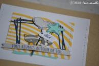 """Carte de félicitations - baptême """"raton laveur"""" Mai 2018   Created by Emmanuelle"""