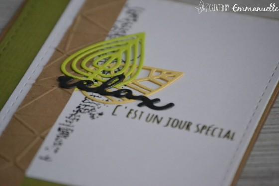 "Carte d'anniversaire ""Relax"" septembre 2018 | Created by Emmanuelle"