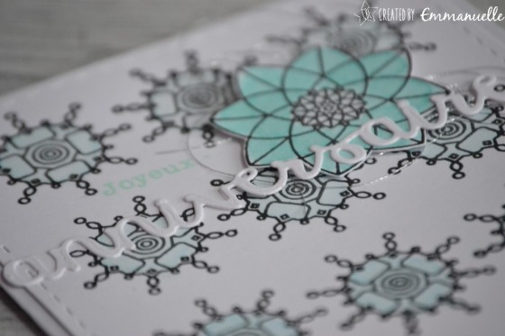 "Carte d'anniversaire ""mandala"" mars 2019 | Created by Emmanuelle"