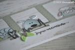 "Carte d'anniversaire ""animaux mignons"" mai 2019 | Created by Emmanuelle"