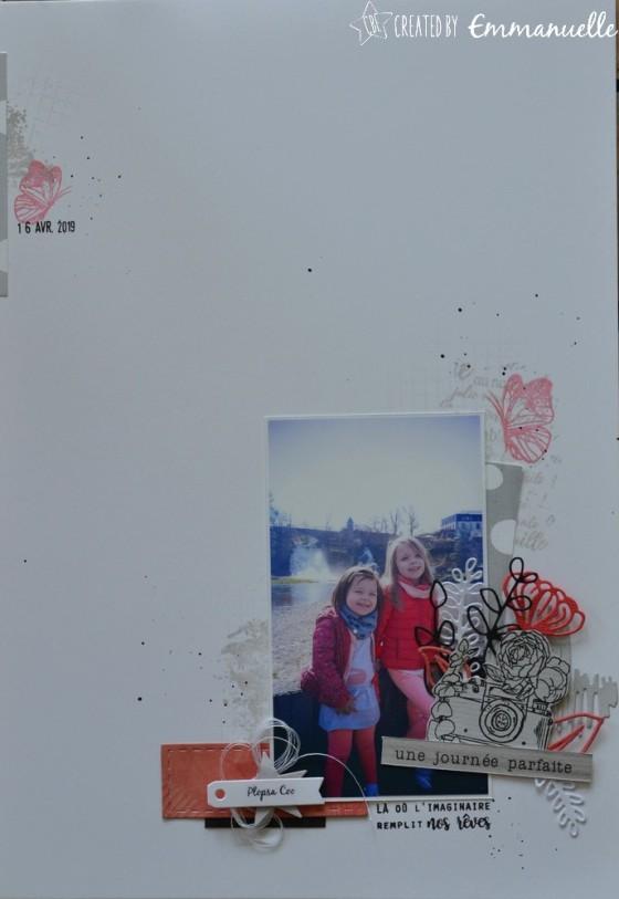 "Page Scrap A4 ""Plopsa Coo"" Juin 2019 | Created by Emmanuelle"