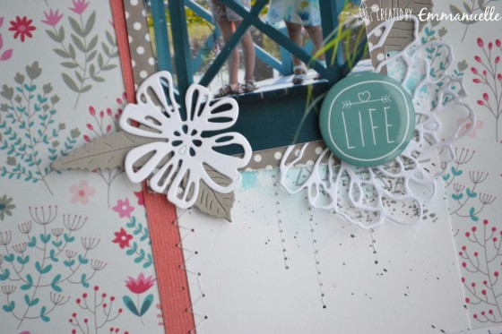 "Page Scrap A4 ""Escapade"" Juillet 2019 
