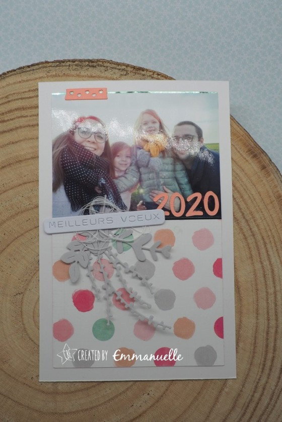 "Carte de vœux 2020 ""Photo de famille"" Janvier 2020 