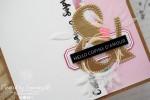 """Carte d'anniversaire """"copine d'amour"""" Février 2020   Created by Emmanuelle"""