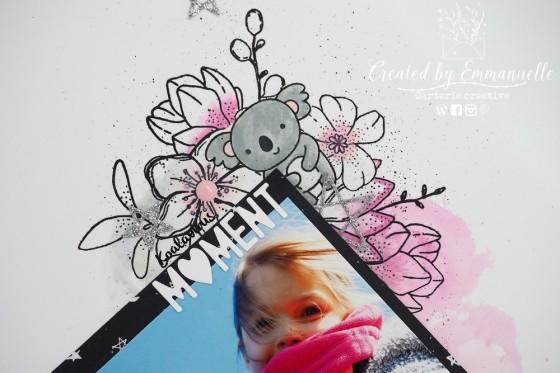 "Page Scrap A4 ""Koalavirus"" Mars 2020 | Created by Emmanuelle"